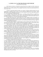 LA FISICA E LE ALTRE DISCIPLINE SCIENTIFICHE