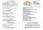Foglietto Settimanale () - Parrocchia Santa Maria Assunta