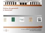Presentazione in formato PDF - Studio Legale Ichino Brugnatelli e