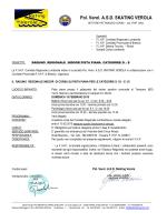 Comunicato - FIHP Comitato Regionale Lombardia Federazione