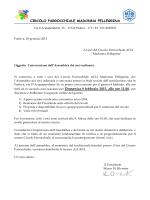 CIRCOLO PARROCCHIALE MADONNA PELLEGRINA 8.00, ed in