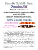 Clicca qui per il programma - Parrocchia SS Trinità Andria