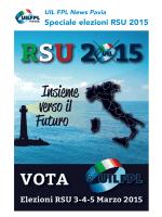 UIL FPL News Pavia_Speciale RSU
