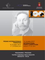Scarica il programma dell`edizione 2015