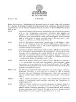 Bando Tutor TFA DR 456 2015 - Area Reclutamento