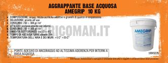 AGGRAPPANTE BASE ACQUOSA AMEGRIP 10 KG