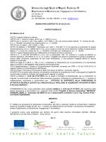 Rif. Metrics A)14 - Università degli Studi di Napoli Federico II