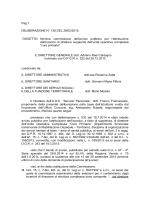 Nomina commissione dell`avviso pubblico per l`attribuzione dell