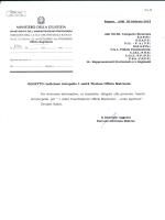 CC Ragusa – Interpello N°1 unità Titolare Ufficio Matricola