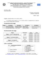 Elezioni R.S.U. 3-4-5 marzo 2015