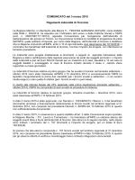 COMUNICATO del 3 marzo 2015 Pagamenti