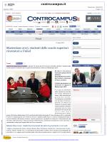 Masterclass 2015 - Università di Udine