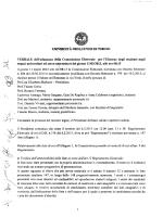 Verbale Commissione Elettorale - Università degli Studi di Torino