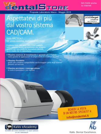 Aspettatevi di più dal vostro sistema CAD/CAM.