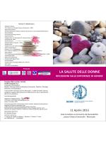 LA SALUTE DELLE DONNE - Associazione Italiana Donne Medico