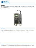 HI 9829 - PCE Instruments
