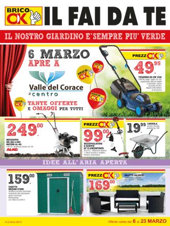 6 MARZO - Centro acquisti Valle del corace
