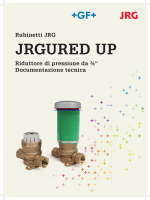 JRGURED UP - Documentazione tecnica