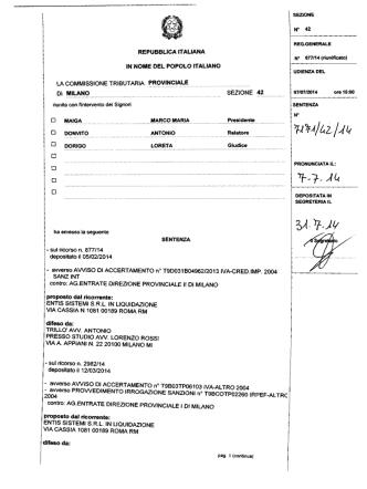 Classifica Squadra Senior - Federazione Ginnastica d`Italia