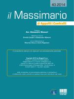 Massimario n. 40 - Le Banche Dati per gli Operatori del Diritto