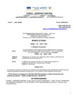 FESR A1 bando forniture - Circolo Didattico Statale Forio Serrara