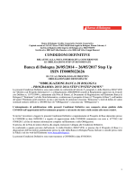 Banca di Bologna 26/05/2014 – 26/05/2017 Step Up ISIN