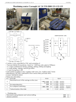 Machining center Carnaghi AC 24 TM-2000 131-132-133