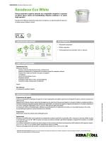 Keradecor eco White - the Kerakoll products area