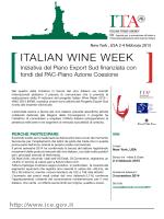 IWW - Italian Wine Week