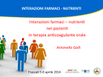 Antonella Galli Interazioni farmaci