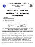MIAZZINA (VB) - CAI Sezione di Gorgonzola