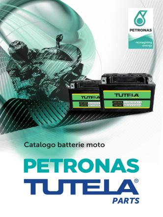 Catalogo batterie moto - petronas lubricants italy
