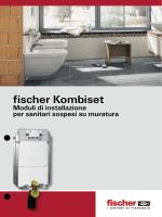 fischer KOMBISET Moduli di installazione per sanitari