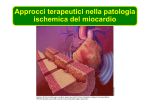 Approcci terapeutici nella patologia ischemica del miocardio
