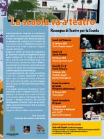 La scuola va a teatro - Utopia Teatro Ragazzi