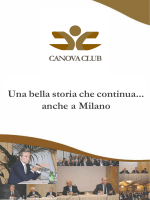Una bella storia che continua... anche a Milano