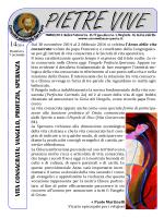 PIETRE VIVE 7 dicembre - Comunità San Paolo