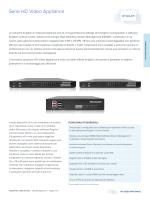 Serie HD Video Appliance