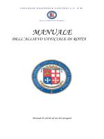 Manuale Navigazione allievo ufficiale