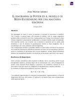IL DIAGRAMMA DI POTIER ED IL MODELLO DI BEHN