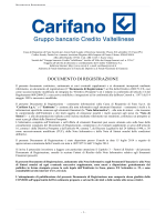 CF- Documento di Registrazione- Deposito