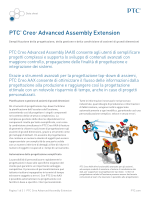 PTC® Creo® Advanced Assembly Extension
