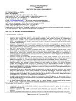 Foglio informativo - Banca Del Veneziano