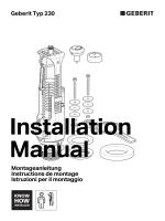 Montageanleitung Instructions de montage Istruzioni per