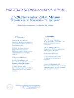 PDF Locandina - Dipartimento di Matematica