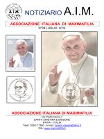 N° 99 Luglio 2014 - AIM - Associazione Italiana di Maximafilia