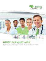 Test rapidi medici - toscana BIOMEDICAL