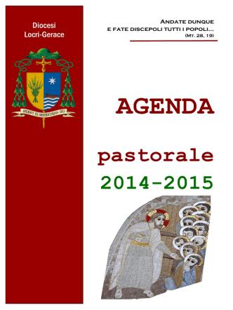 AGENDA pastorale 2014-2015 - Diocesi di Locri