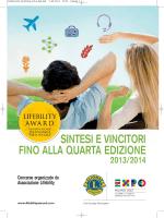 sintesi e vincitori fino alla quarta edizione 2013/2014