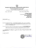 """sciopero del 14-11-2014 - Scuola Secondaria di 1° grado """"F"""